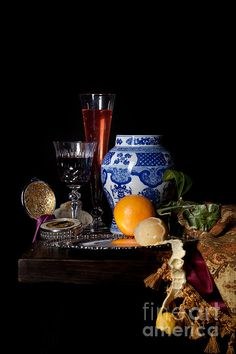 Still life after Willem Kalff – Levin Rodriguez